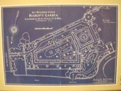 The 1926 plan for the garden.