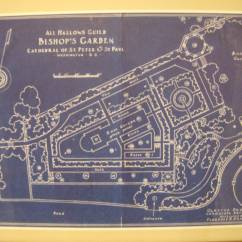 The 1926 plan for the garden.