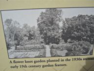 The garden in the 1930s, looking north.