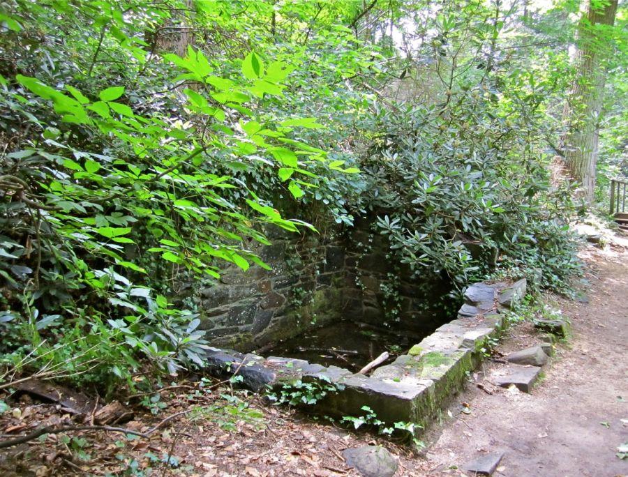 Old stone pool.