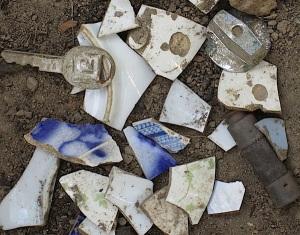 objects in dirt