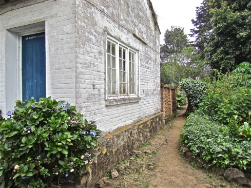This part of the house was added in the sixties.