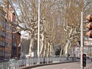 In Vieux Lyon, near the Saone River.