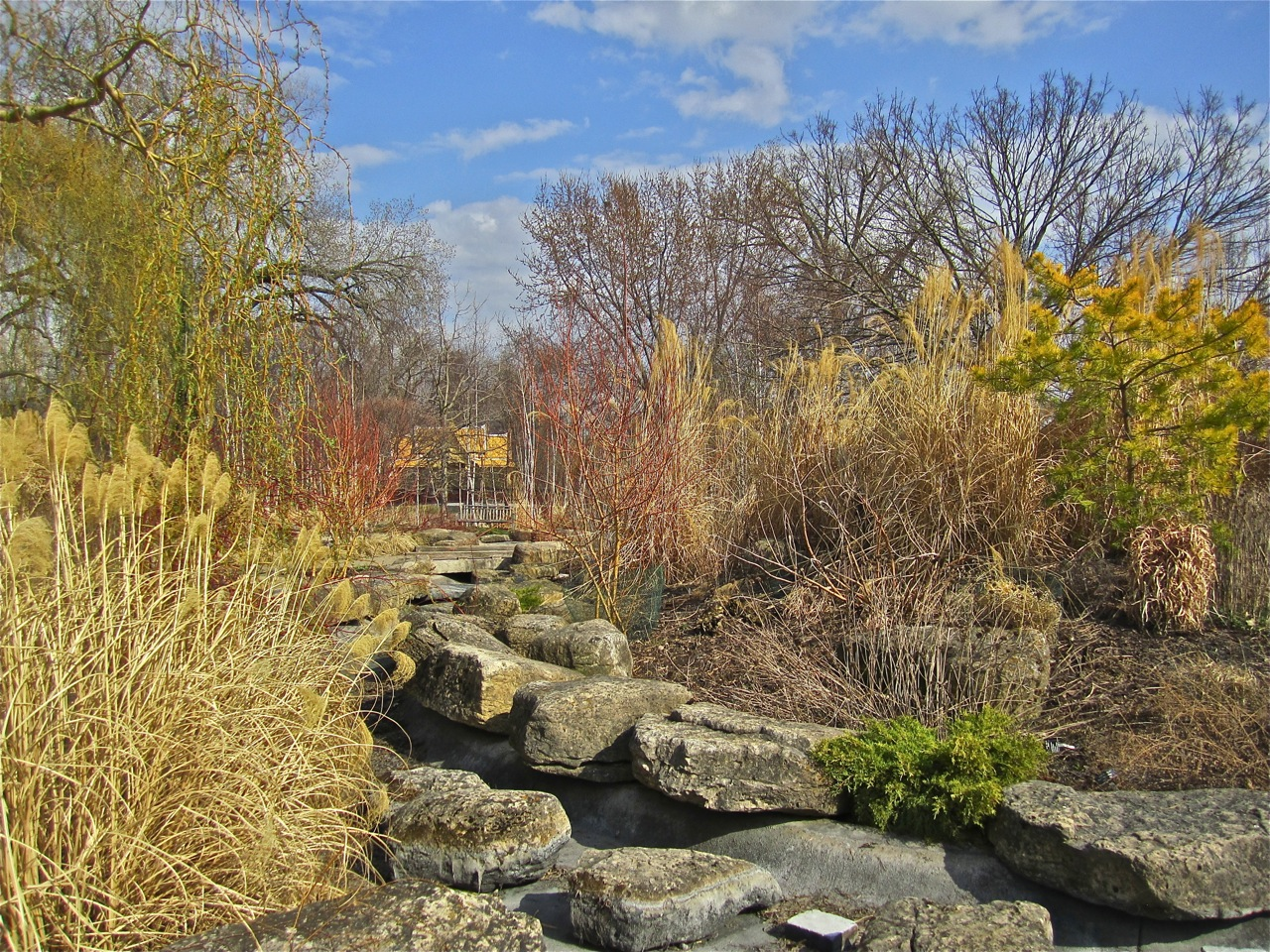 The Olbrich Botanical Gardens in March – enclos*ure