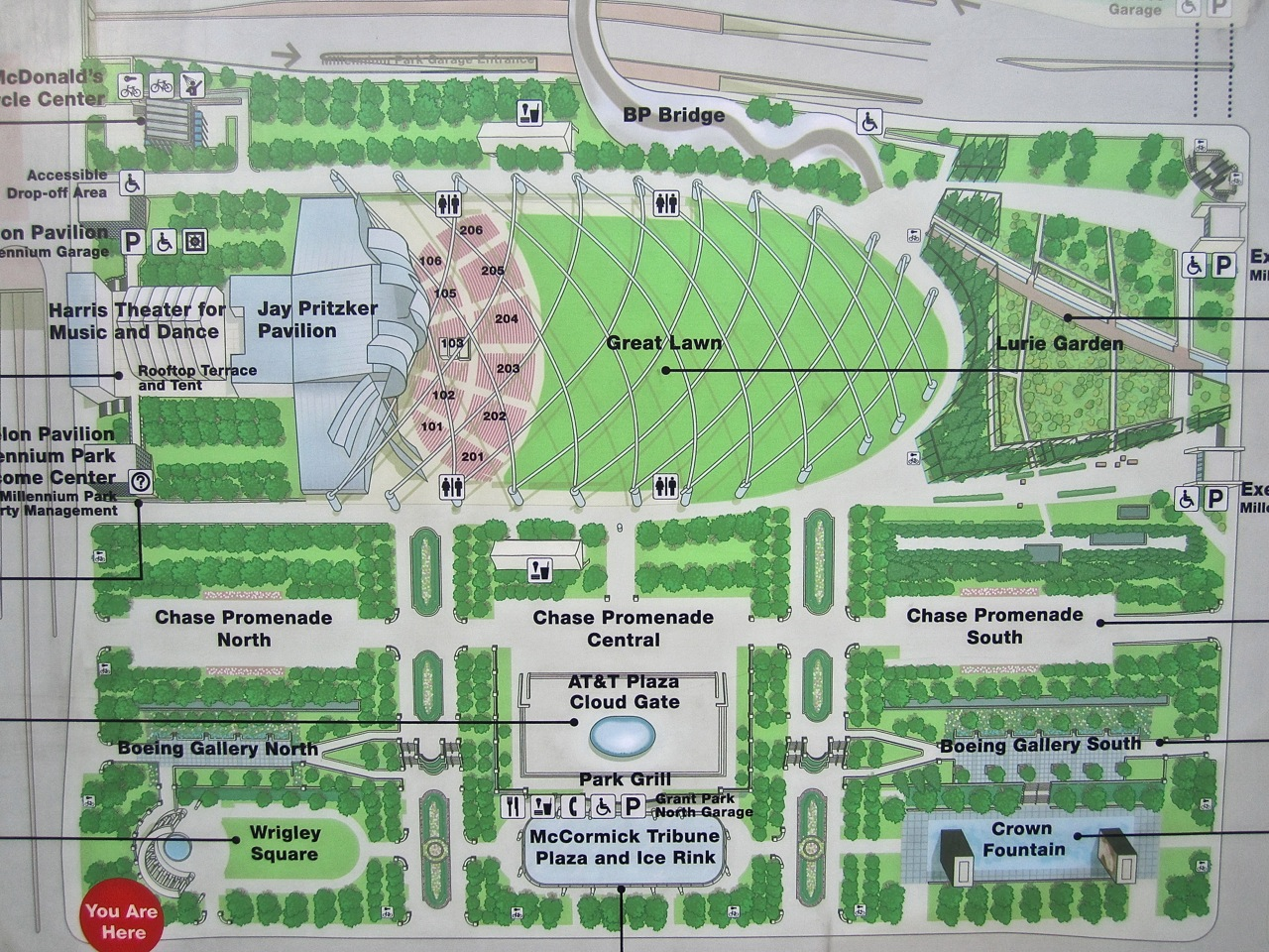 A study in steps and more in chicago enclos ure for Lurie garden planting plan