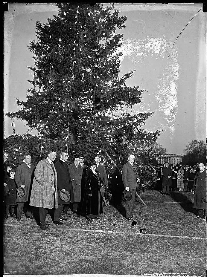 1923 tree lighting, LoC