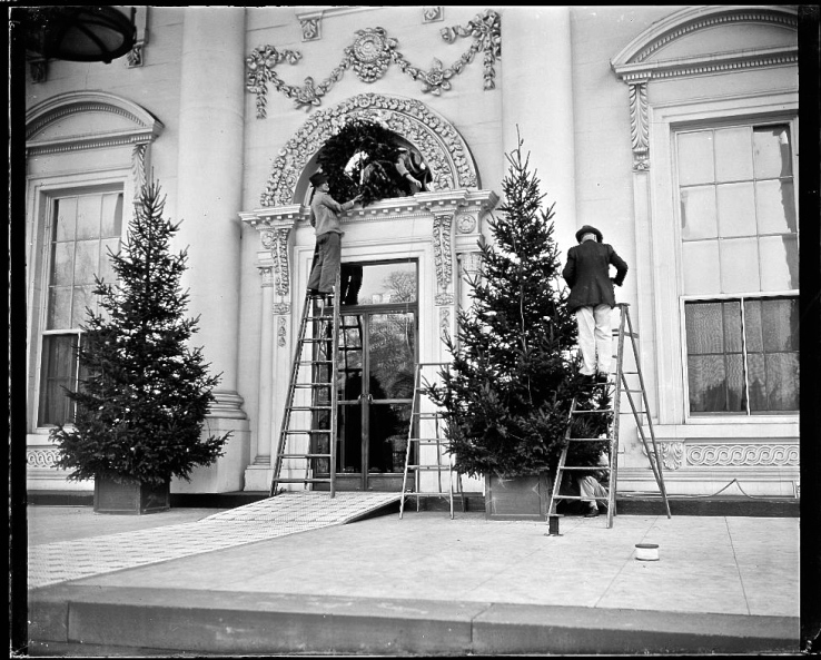 White House, 19 December 1939, via LoC