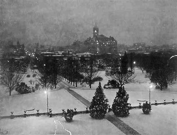 View from Post Office Building, 1911, Wash.D.C.