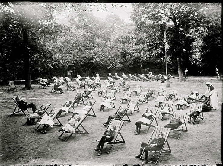 Open-air school in London, Library of Congress