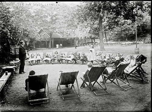 Open-air school, London, Library of Congress