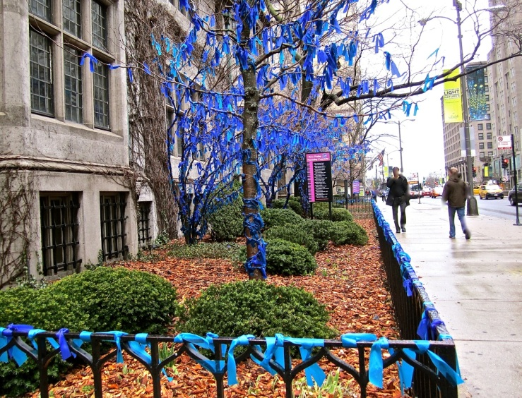 Ribbon tree in Chicago/enclos*ure