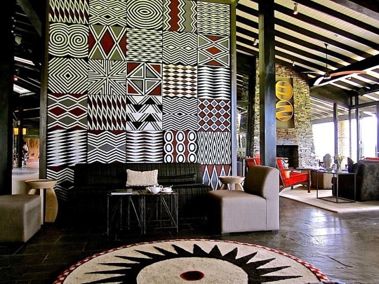 Imigongo at Nyungwe Forest Lodge, Rwanda:enclos*ure