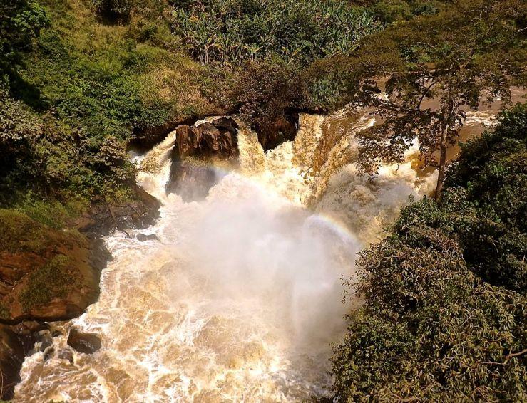 Rusumo Falls, Rwanda:enclos*ure