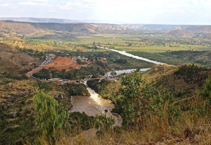 The Rwanda-Tanzania border area, Rwanda:enclos*ure