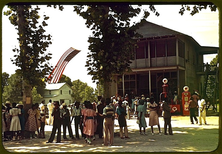 1939 Fourth of July on St. Helena Island, S.C., by Marion Post Wolcott, Library of Congress