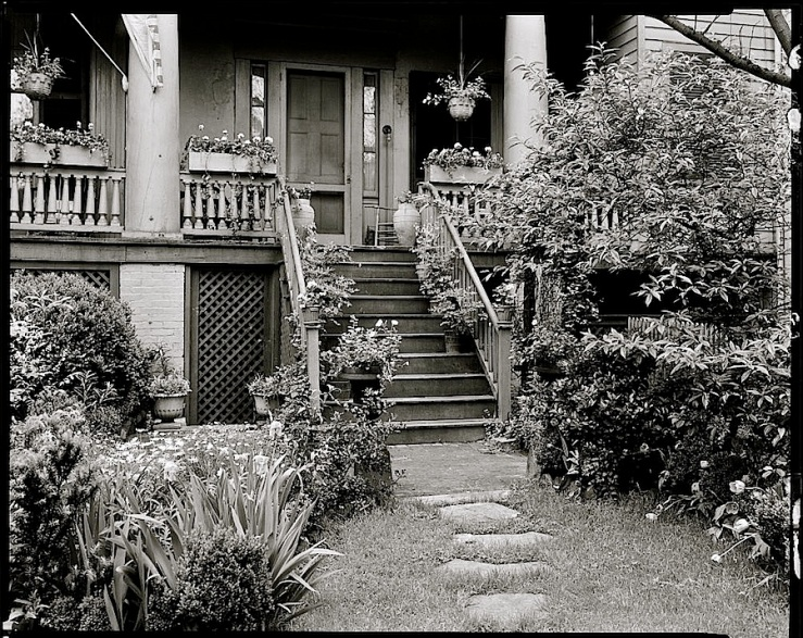 Ellen Glasgow House, 1930s, Richmond, by Frances Benjamin Johnston, Library of Congress