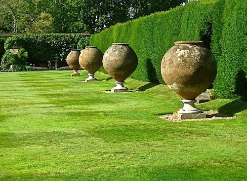The Italian Garden, Hever Castle, Kent, by Derek Voller.