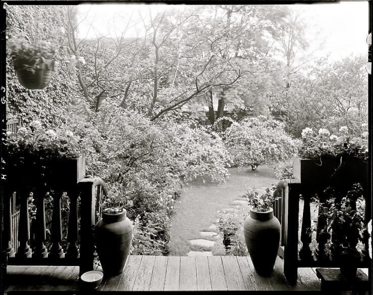 The Sunday porch/enclos*ure: Ellen Glasgow Hse., Richmond, ca. 1930s, F.B. johnston, Library of Congress