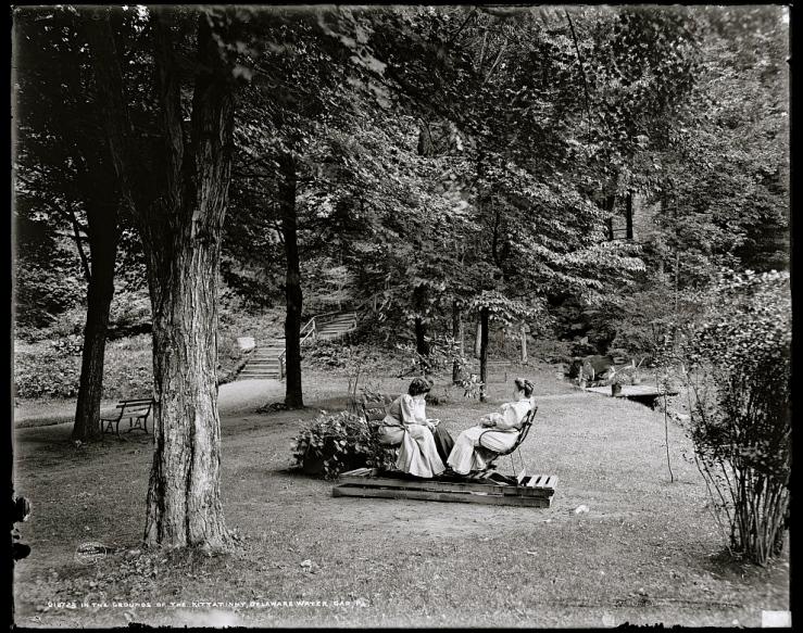 The Kittatinny, Delaware Water Gap, Pa., c. 1905, via Library of Congress/enclos*ure