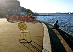 Memorial Union Terrace, University of Wisconsin-Madison/enclos*ure