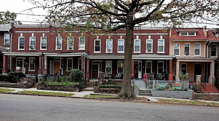Wardman-style rowhouses