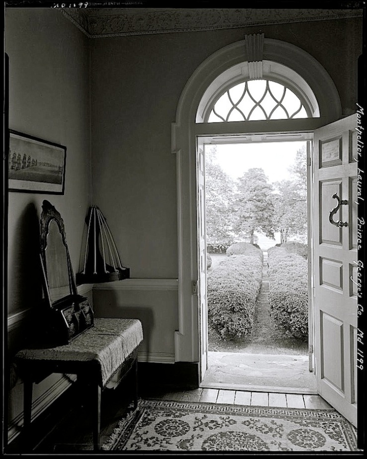 door, inside