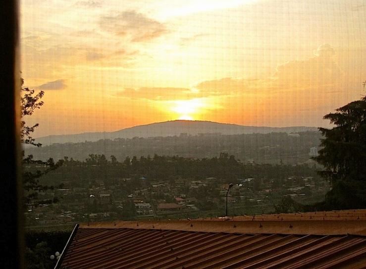 Sunset on Mt. Kigali, Rwanda/enclos*ure