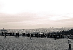 A view of Prague from the castle (Prazsky Hrad).