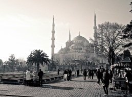 The Blue Mosque from the northeast.
