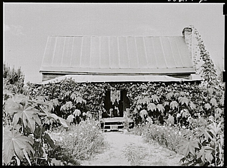 Drigger home, 1941 Coffee Co., Alabama, via Library of Congress