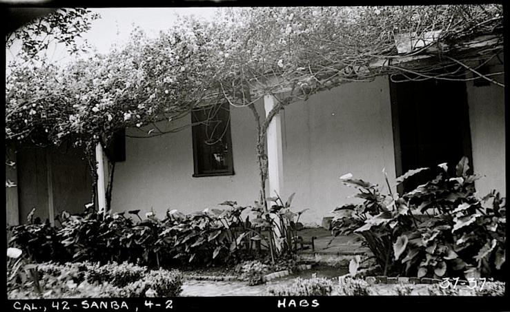 Vhay house, Santa Barbara CA, 1934, HABS, Library of Congress
