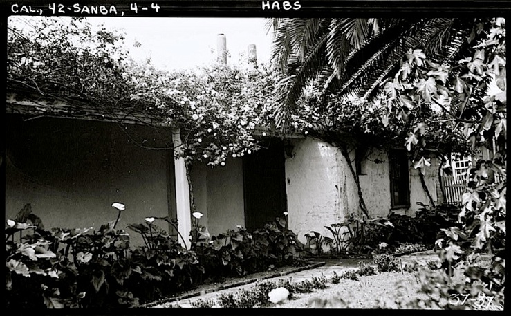Vhay house, Santa Barbara CA, 1934, HABS, Library of Congress
