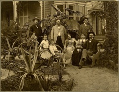 The von Seutter family, c. 1890.