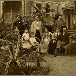 The von Seutter family, c. 1890.