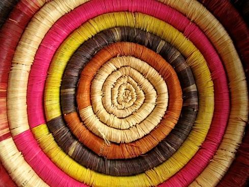Wordless Weds./enclos*ure: Rwandan baskets