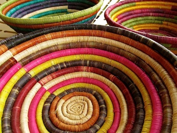 Wordless Weds./enclos*ure: Rwandan baskets