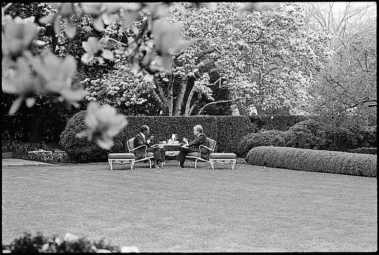 Sadat and Carter at the White House, 1980, Library of Congress