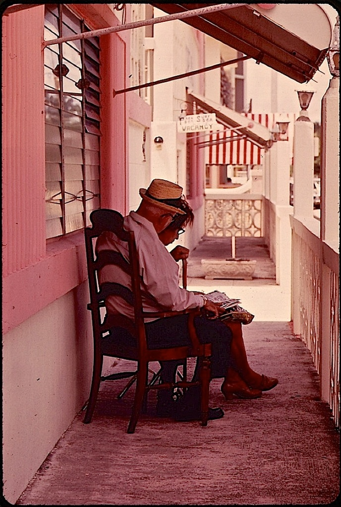 South Beach, c. 1975, via Natl. Archives