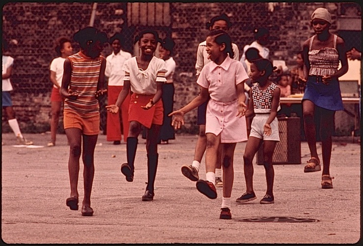 Life in gardens/enclos*ure: Chicago, 1973, via National Archives