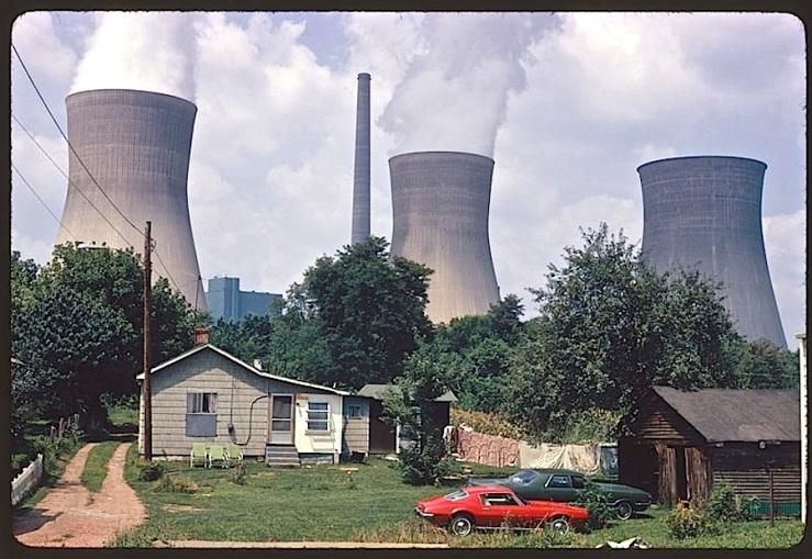 Vintage landscape/enclos*ure: Poca, W.V., 1973,, via Natl. Archives
