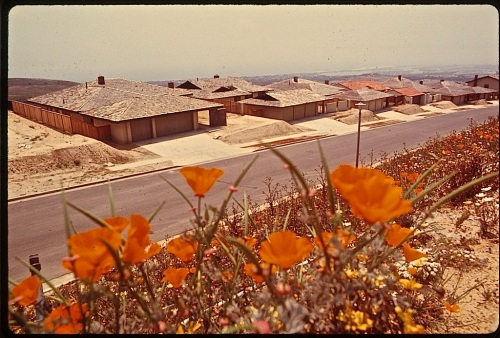 L.A. houses, DOCUMERICA, National Archives