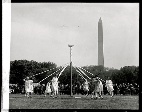 Maypole, 1925, Library of Congress