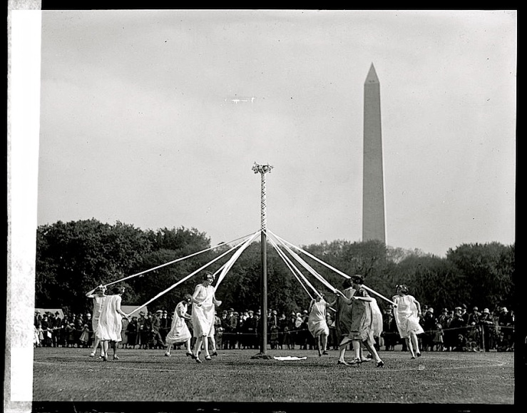 Maypole, 1925, Library of Congress