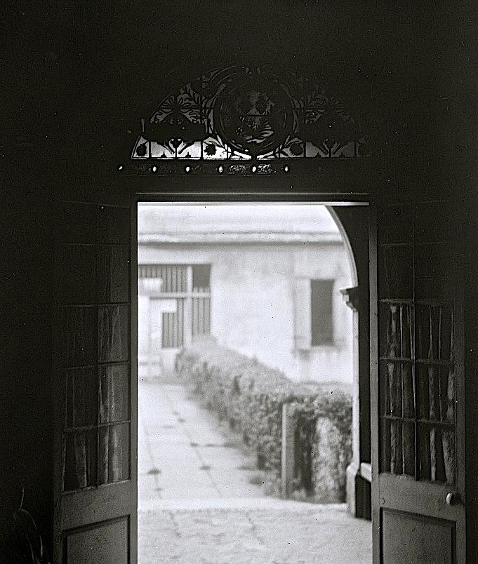 Vintage landscape/enclos*ure: Ursuline Convent, New Orleans, Library of Congress