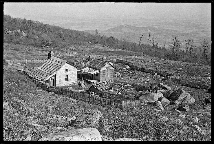 Corbin Hollow farm, Shenandoah Natl. Park, 1935, LoC