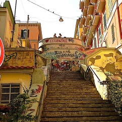 Steps in the Petraio neighborhood of Naples.