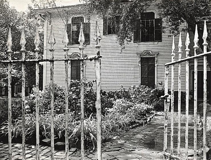 Samuel Bell Maxey Hse. 2, c. 1966, Paris TX, via Texas State Archives