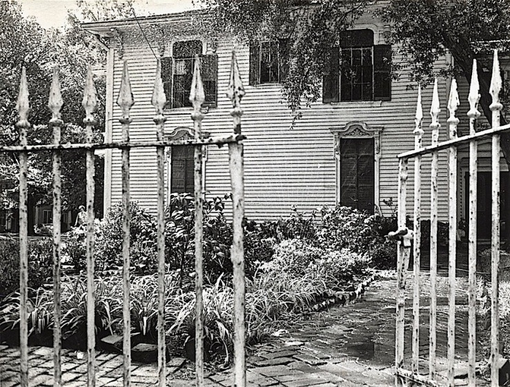 Samuel Bell Maxey Hse. 2, c. 1966, Paris TX, via Texas State Archives