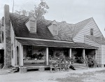 ca. 1935 farmhouse, Crowell's Crossroads, North Carolina, via LoC