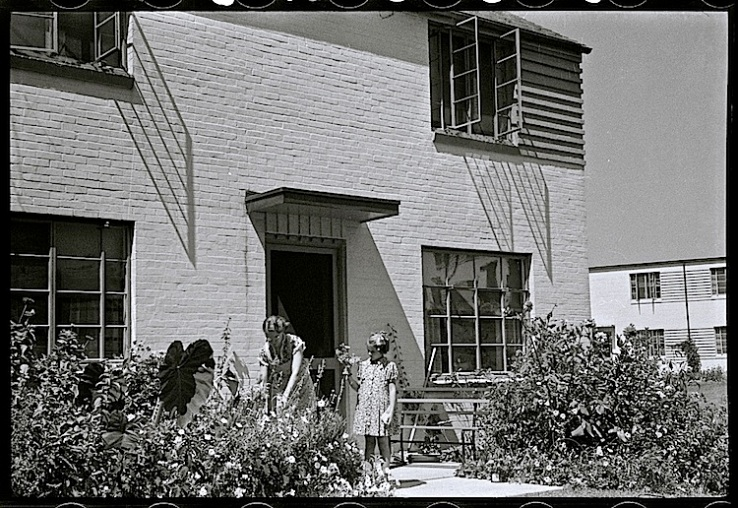 Greenbelt, Md., 1938, by Marion Post Wolcott, via Library of Congress